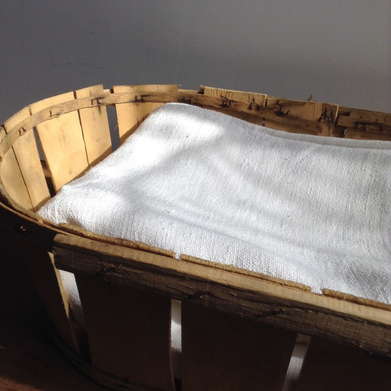 linge ancien drap en chanvre blanc monogramme brod rouge. Black Bedroom Furniture Sets. Home Design Ideas