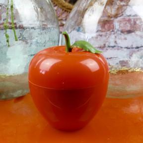 Seau a glacons pomme orange vintage 1970.