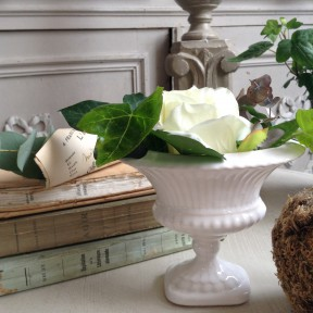 Vase Medicis Blanc