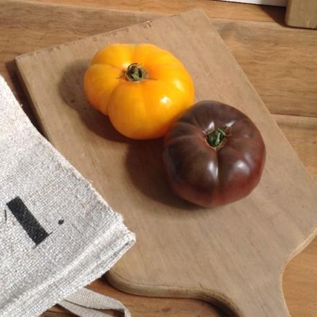 ancienne planche d couper en bois brut clair cuisine. Black Bedroom Furniture Sets. Home Design Ideas