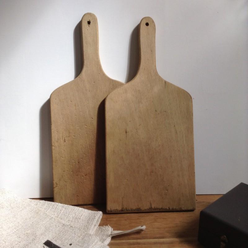 ancienne planche d couper en bois brut clair cuisine boucher vintage. Black Bedroom Furniture Sets. Home Design Ideas