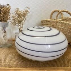 Lampe Opaline Blanche années 60-70