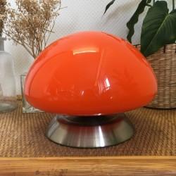 Lampe Orange Vintage 1960