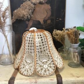 Suspension fleur Crochet
