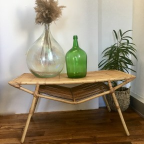 Table Basse Bambou 50