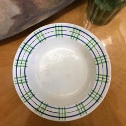assiettes Digoin & Sarreguemines modèle Poitou