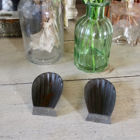 Lot de 2 Moules Anciens Madeleine