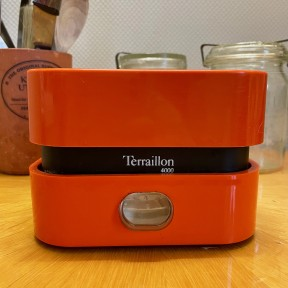 Balance T4000 Terraillon Orange, vintage 70s