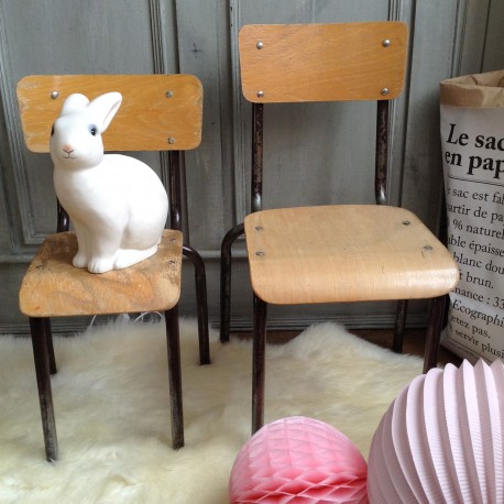 Chaise DEcole Enfant Vintage