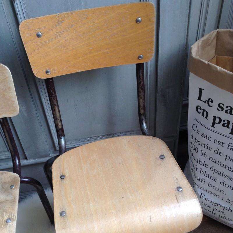 Chaise DEcole Enfant Vintage