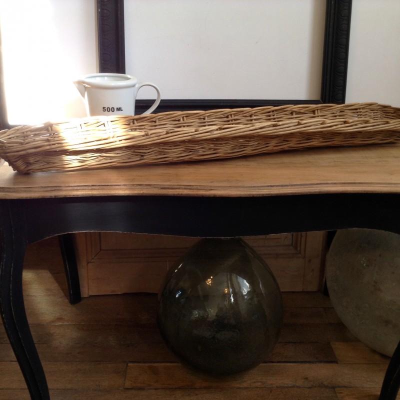 Table basse style louis 16 patine noire plateau en bois - Patine noire meuble ...