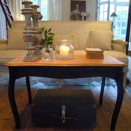 Table Basse Patine Noir Graphite