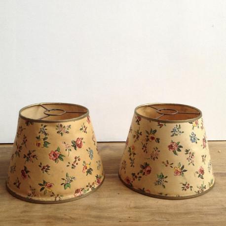 Abat Jour Ancien abat-jour conique ancien pour lampe ou applique vintage année 1950