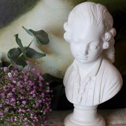 Buste Ancien Gentilhomme du XVIIIème