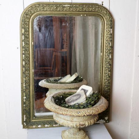 Cadre miroir mercure style napol on iii poque d but 20 me for Miroir au mercure