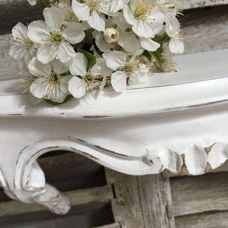 ancienne console sellette en resine sculpt e de style louis xv patine. Black Bedroom Furniture Sets. Home Design Ideas