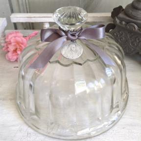 Cloche en verre soufflé