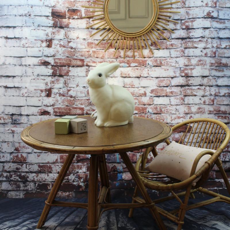 fauteuil en rotin vintage pour enfant. Black Bedroom Furniture Sets. Home Design Ideas
