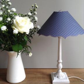 Lampe Corneille Patinée Craie