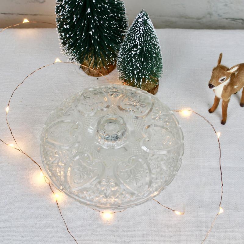 bonbonni re ancienne en verre pour servir des bonbons ou friandises. Black Bedroom Furniture Sets. Home Design Ideas