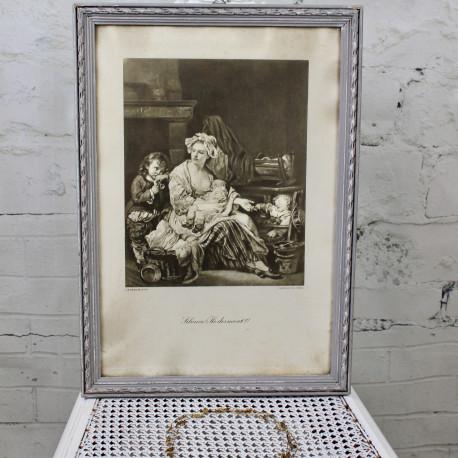 Gravure Diane à la Chasse de François Boucher