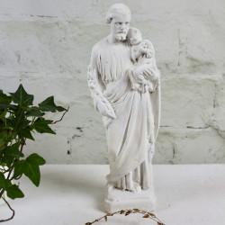 Grande Statuette de Joseph à l'enfant