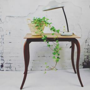 Table Patine Noir Graphite