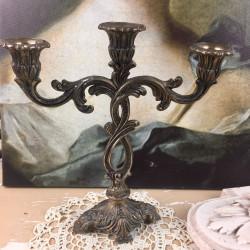 Chandelier en Bronze Style Louis XVI