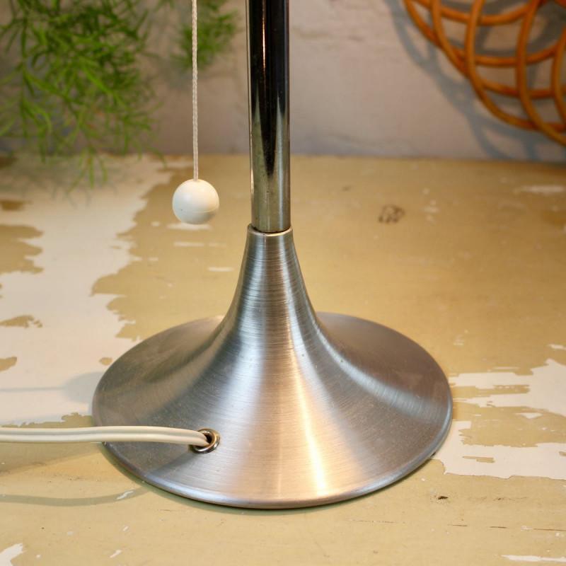 Lampe Champignon Vintage Édition Disderot Aluminium Années 1950 1960