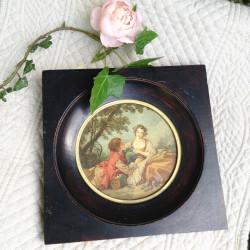 Médaillon La Musette François Boucher