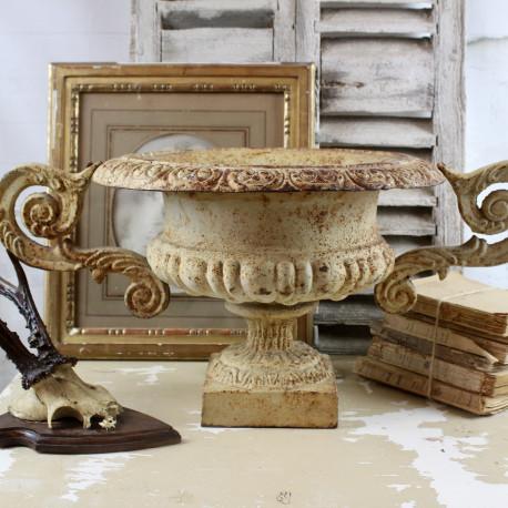 Vase Medicis Blanc Antique