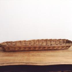 Panière à Pain de boulanger en osier