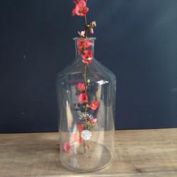 Vase Flacon en Verre