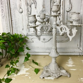 Chandelier Patiné Lin Shabby Chic