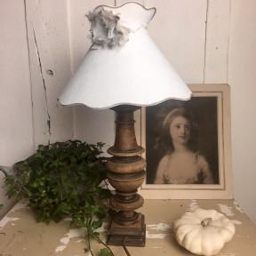 Lampe Balustre en Bois