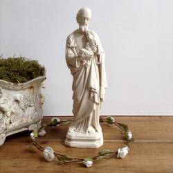 statuette de Joseph à l'enfant