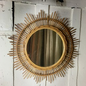 Grand Miroir Soleil Vintage
