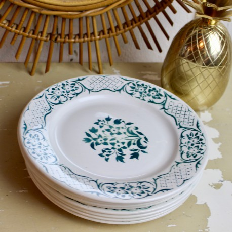 "Assiettes Digoin collection ""Versailles"""