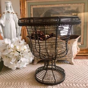 Coupe Vase Medicis Patine Rouille