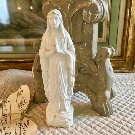Statuette Notre-Dame de Lourdes Blanche