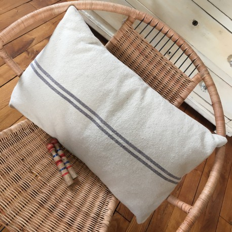 Coussin Blanc Shabby Chic