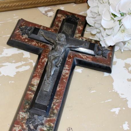 Grand Crucifix Bénitier Napoléon III
