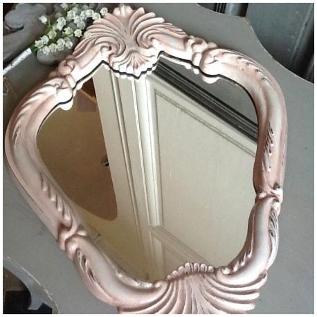 Miroir Style Louis XV Patine Cuisse de Nymphe