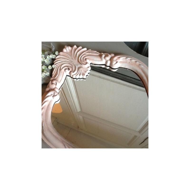 miroir style louis xv patine l 39 ancienne cuisse de nymphe. Black Bedroom Furniture Sets. Home Design Ideas